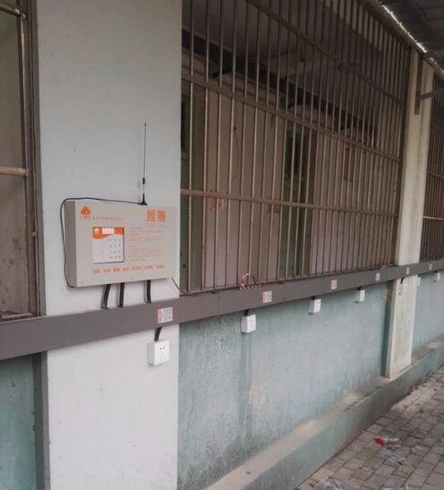 充电桩校园设计安装图