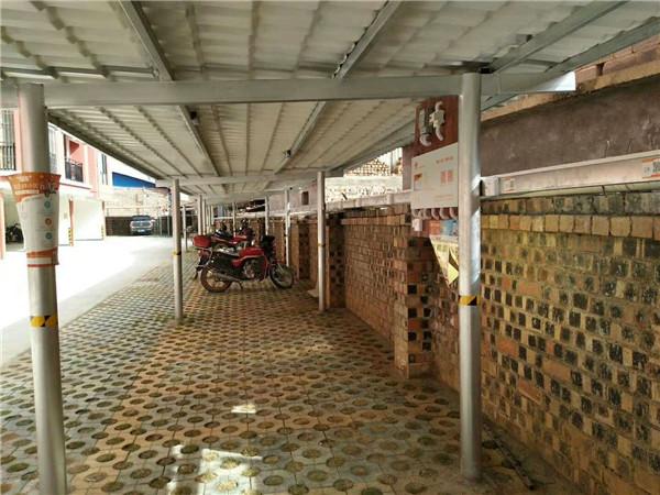 广西百色市田阳三和城小区安装云易充现场图例2